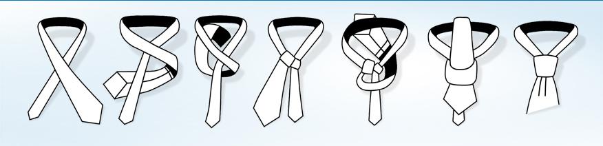 Návod na vázání kravaty - Manhattan.