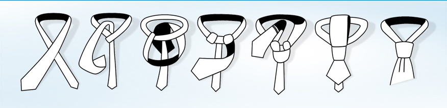 Návod na vázání kravaty - Windsor.