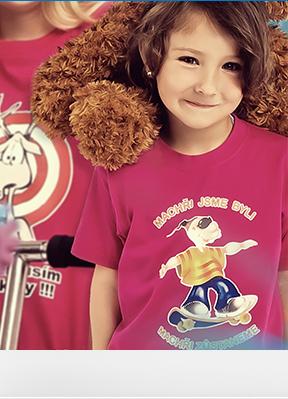 Obrázek Trička KLASIK pro prvňáčky