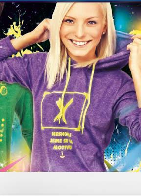 Obrázek Absolventská trička s kapucí HOOD LADY